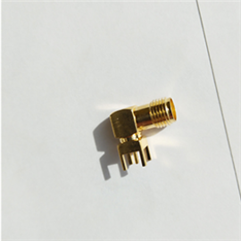 R/A SMA Female for pcb welding 14.5mm long